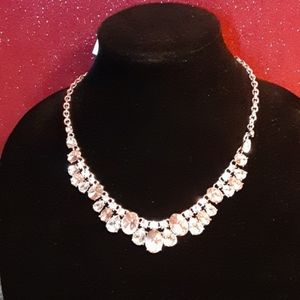 CHARTER CLUB  PINK STATEMENT NECKLACE